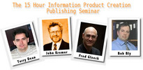 Thumbnail 15 Hour Information Product Creation Publishing Seminar