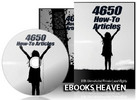 Thumbnail 4650 How-To Articles with Private Label Rights
