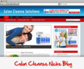 Thumbnail Colon Cleanse Niche Blog