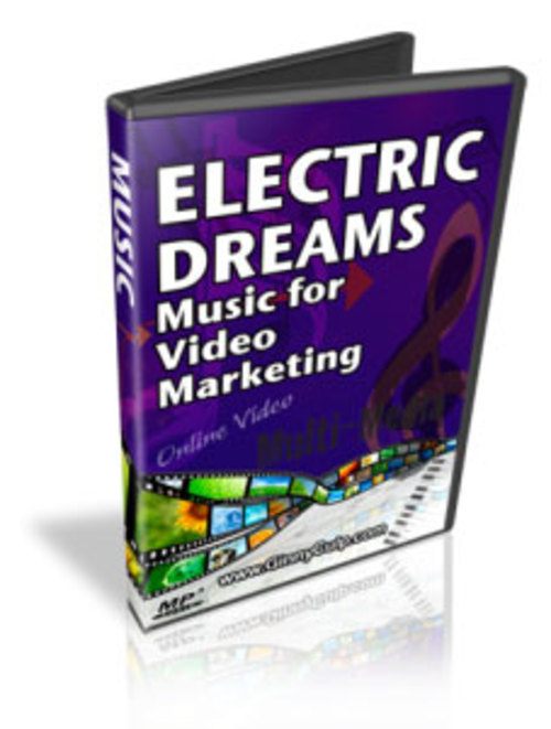 Product picture Electric Dreams - Music for Video Marketing